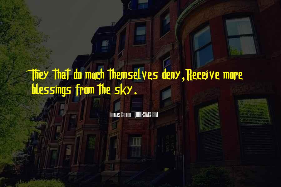 Quotes About More Blessings #904580