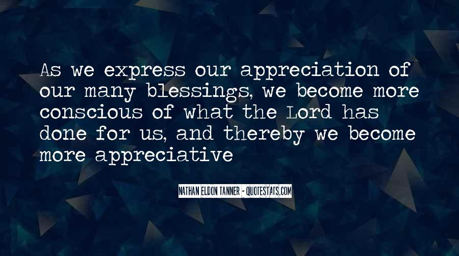 Quotes About More Blessings #977613