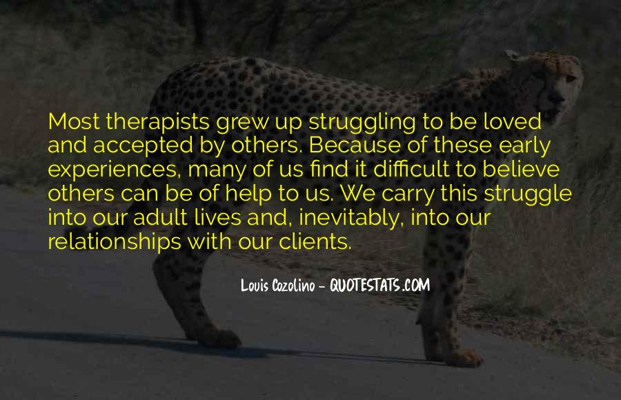 Quotes About Struggle In Relationships #519516