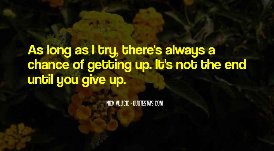 Quotes About Not Getting Up #195823