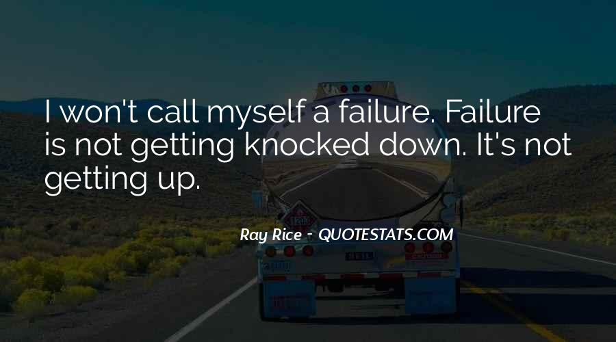 Quotes About Not Getting Up #202112