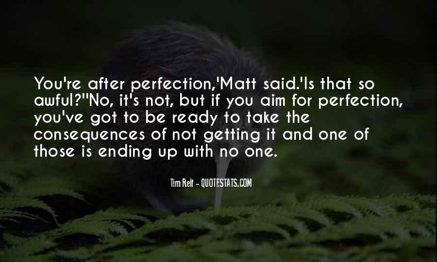 Quotes About Not Getting Up #219706