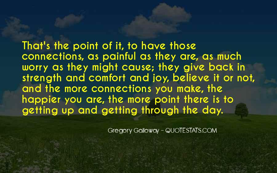 Quotes About Not Getting Up #252235