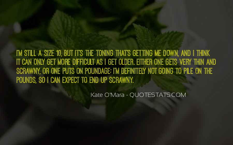Quotes About Not Getting Up #98311