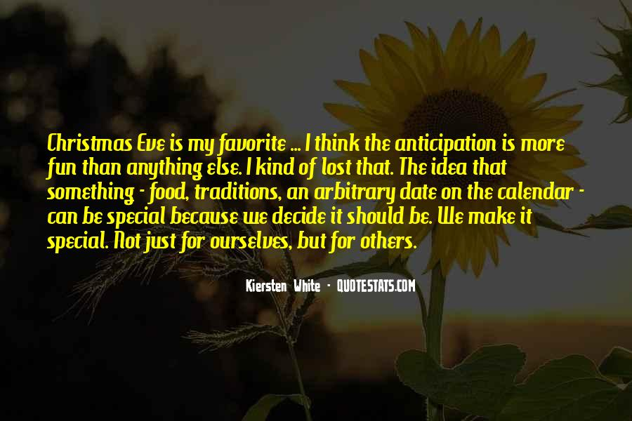 Quotes About The Anticipation Of Christmas #1003628