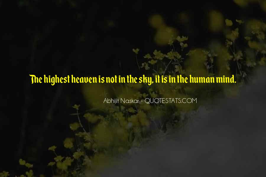 Quotes About Heaven And The Sky #1424609