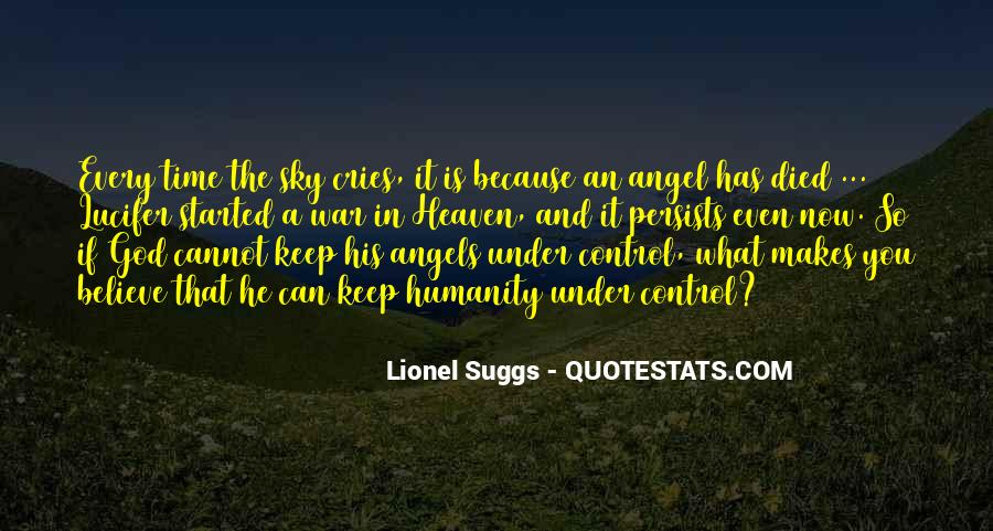 Quotes About Heaven And The Sky #1452493