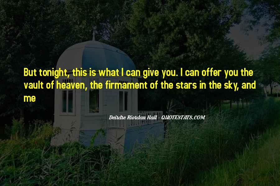 Quotes About Heaven And The Sky #304725