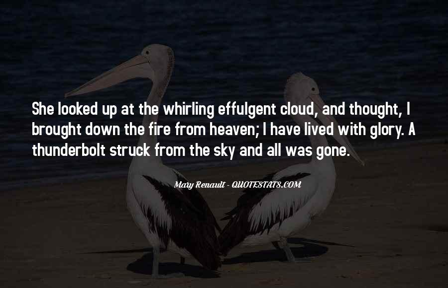 Quotes About Heaven And The Sky #343196