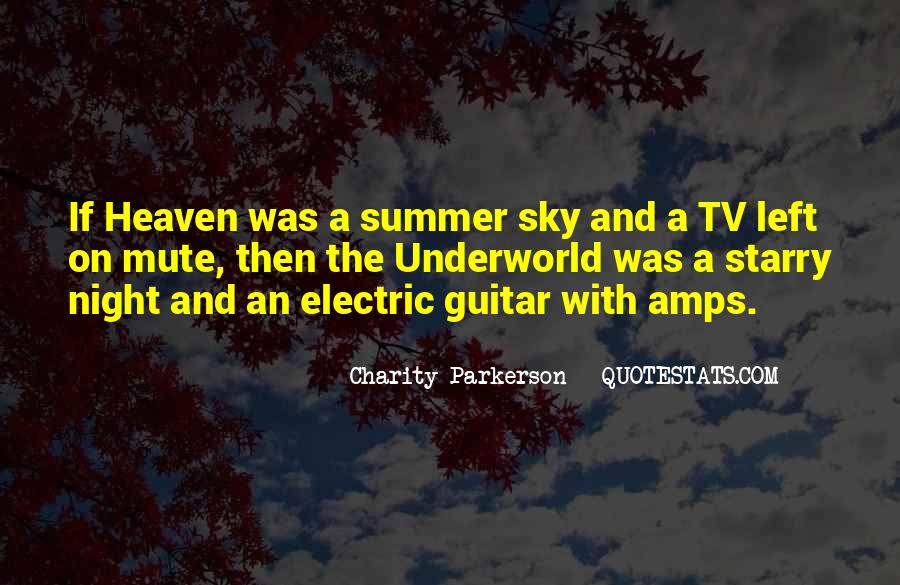 Quotes About Heaven And The Sky #545959