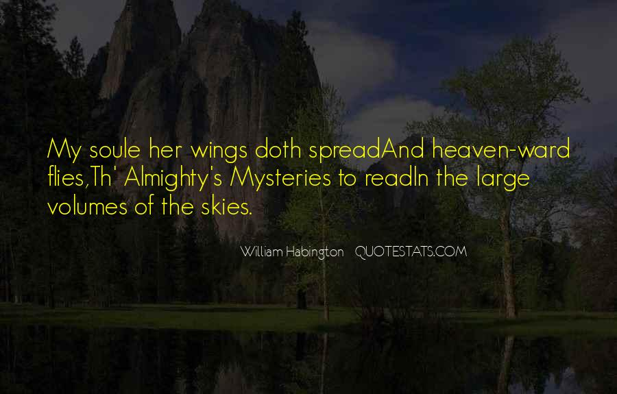 Quotes About Heaven And The Sky #753065