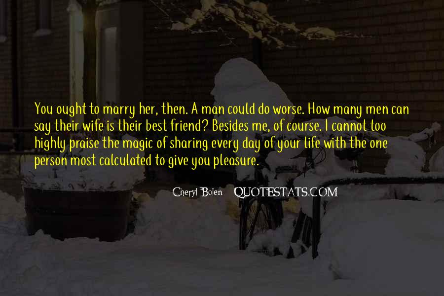 Quotes About Sharing A Man #1317563