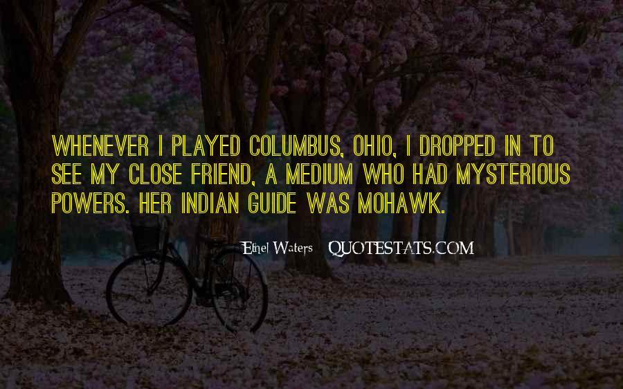 Quotes About Columbus Ohio #127710
