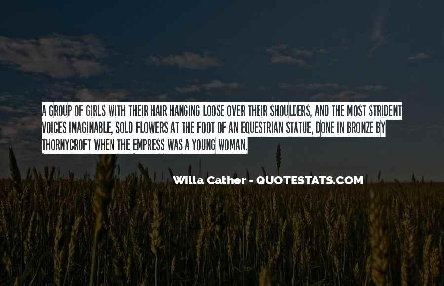 Quotes About Flowers In Her Hair #1785429