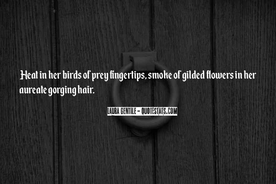 Quotes About Flowers In Her Hair #192875