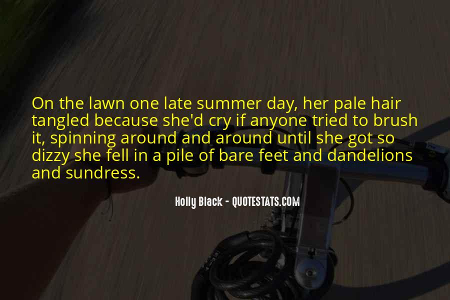Quotes About Flowers In Her Hair #438600