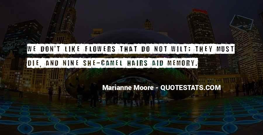 Quotes About Flowers In Her Hair #66929