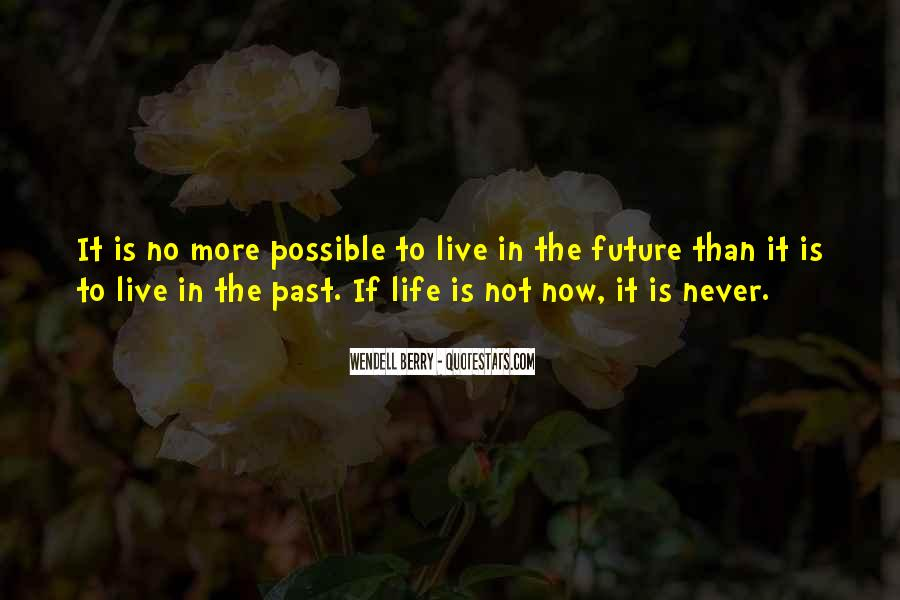 Quotes About Future Life #16683