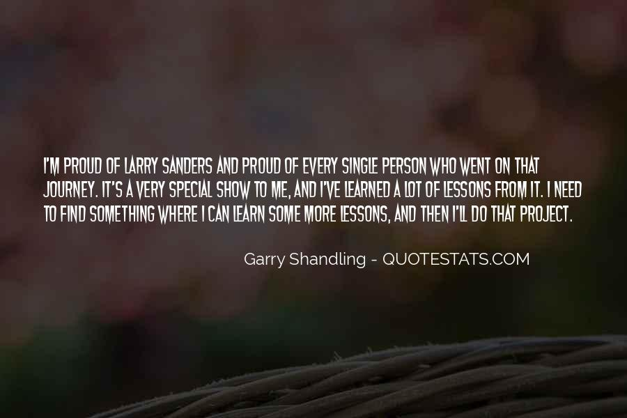 Quotes About Shandling #224224