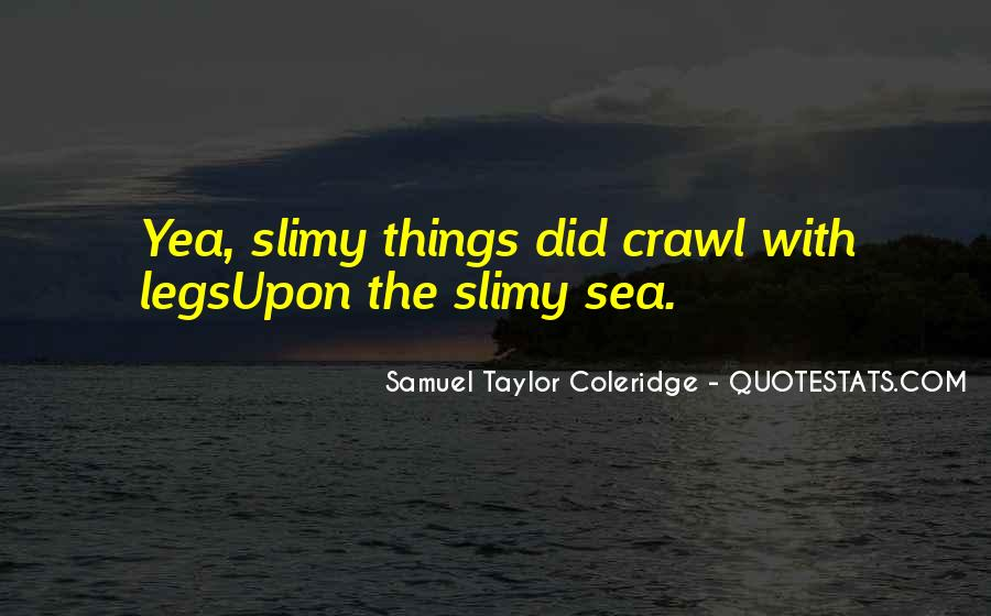 Quotes About Sea Creatures #465619