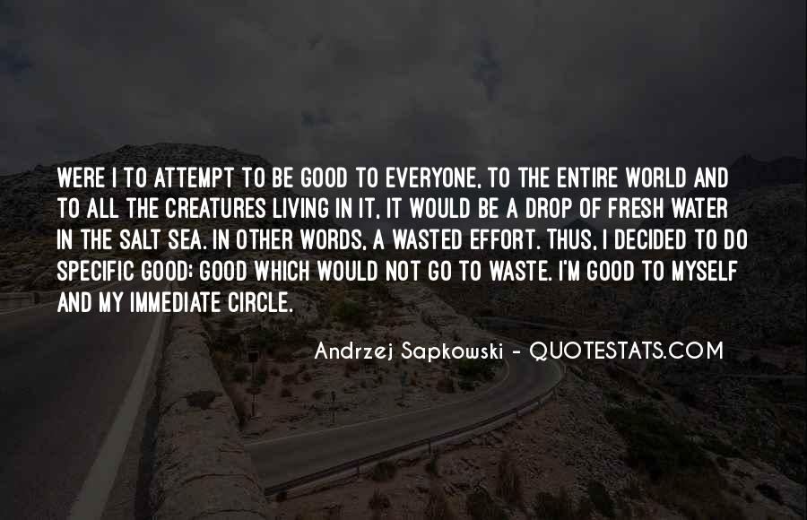 Quotes About Sea Creatures #624132