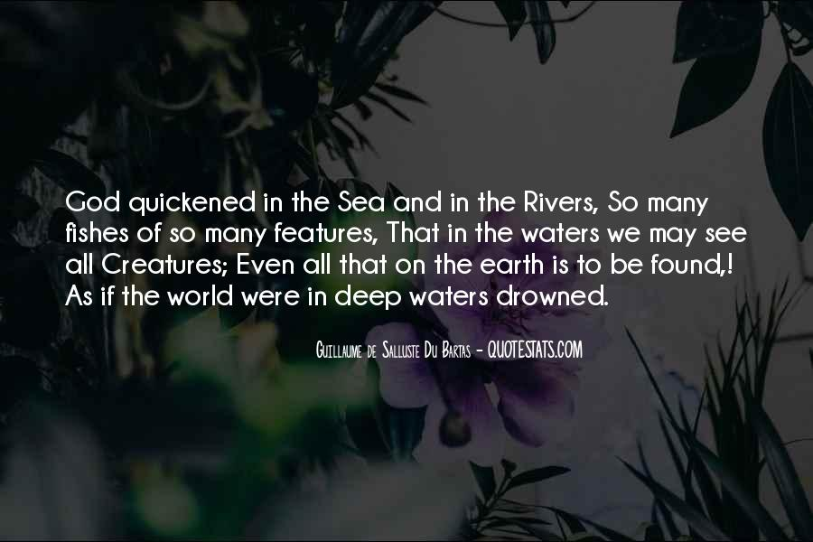 Quotes About Sea Creatures #814930