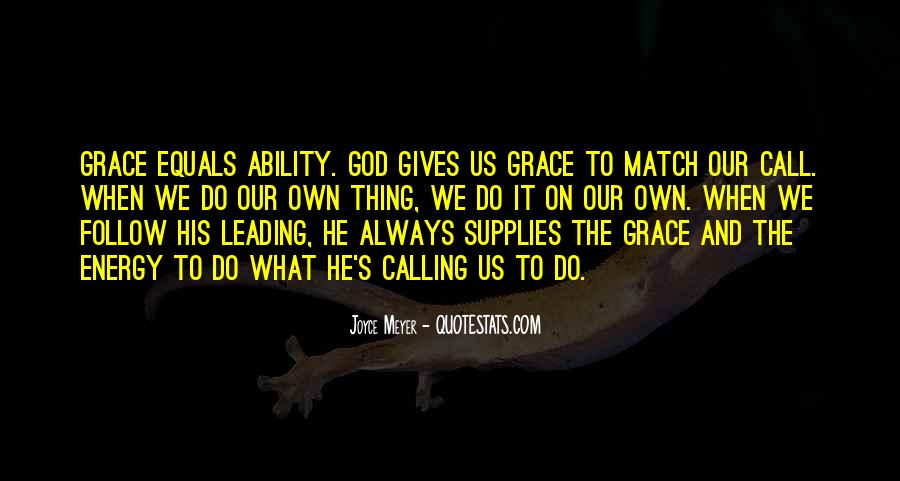 Quotes About What God Gives Us #1795394