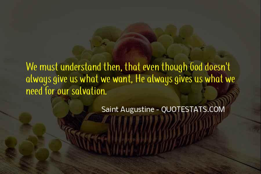 Quotes About What God Gives Us #959084