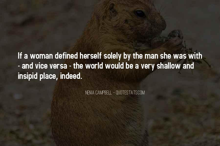 Quotes About Shallow Men #198058