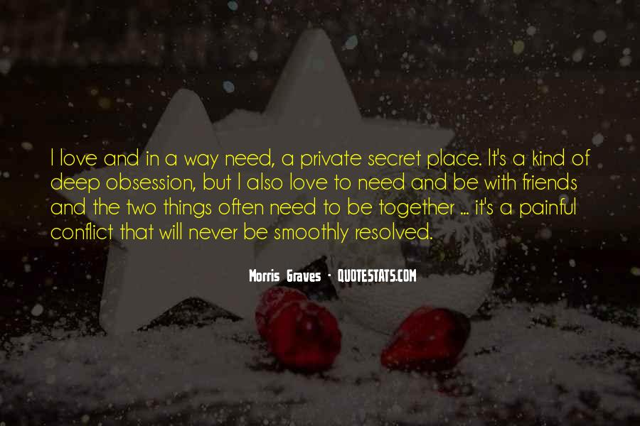 Quotes About Need Love #2585