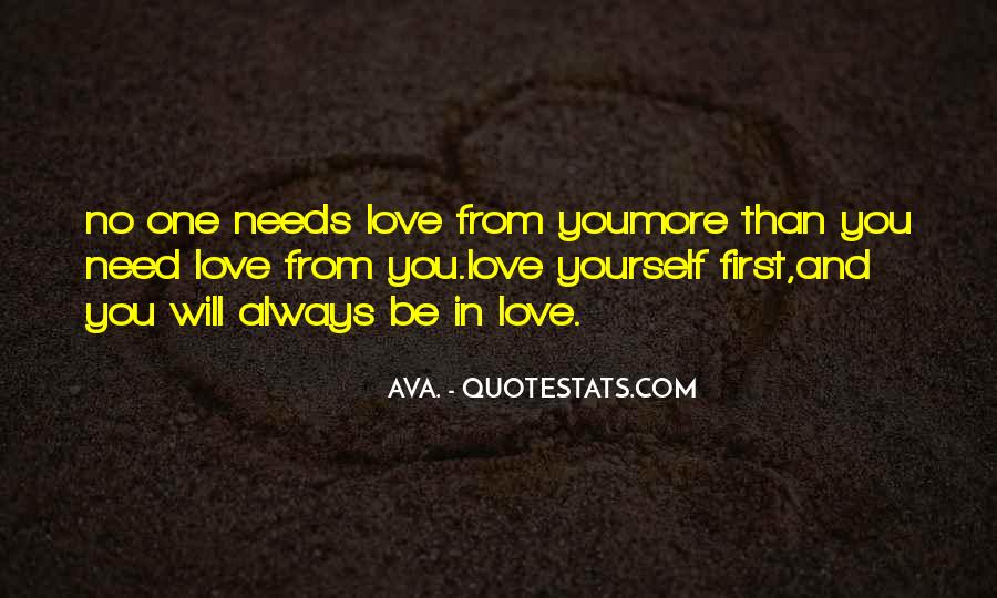 Quotes About Need Love #62327