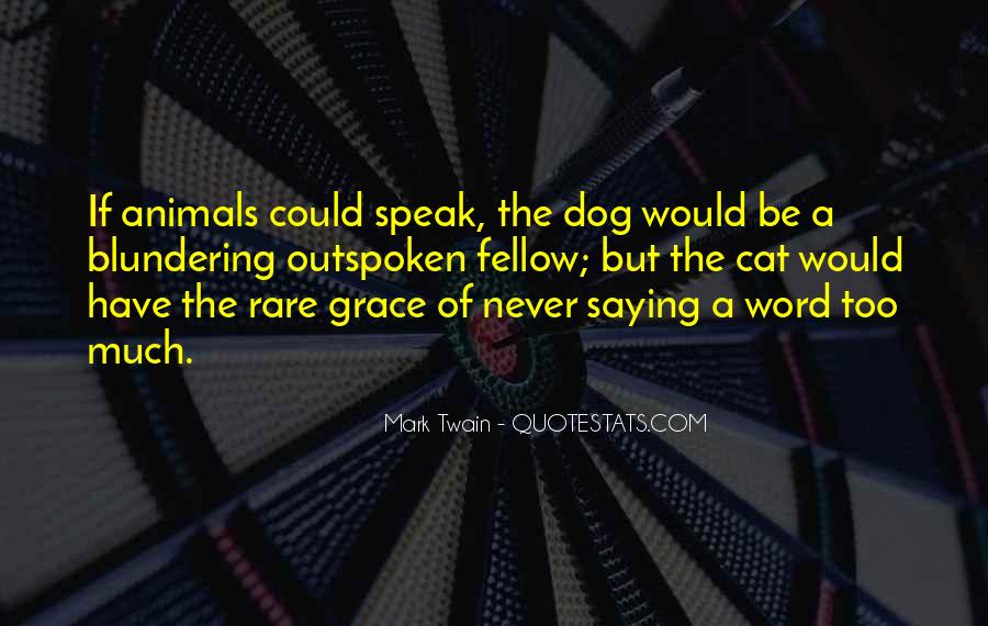 Quotes About Rare Animals #1705838