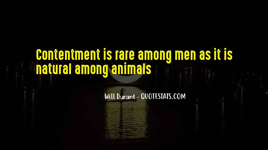 Quotes About Rare Animals #1762702