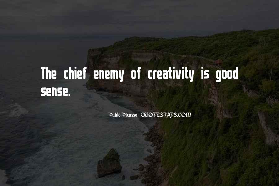 Quotes About Creativity Picasso #370489