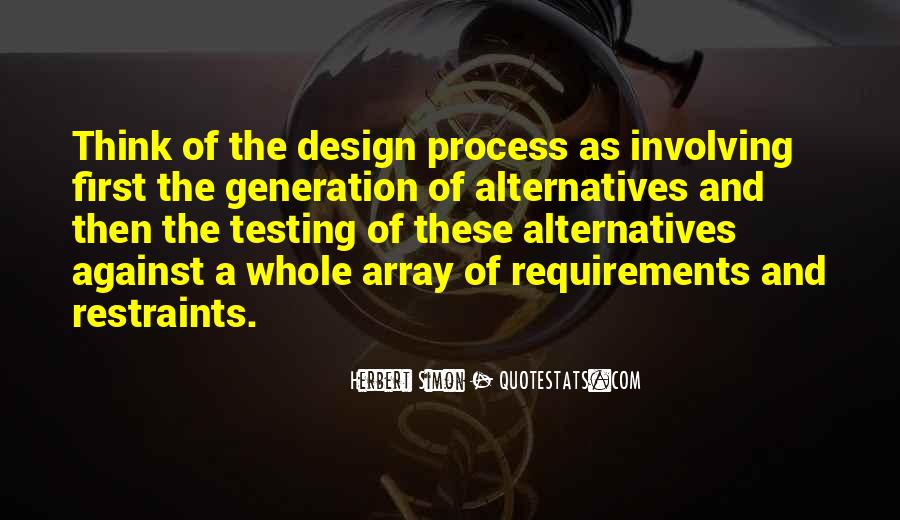 Quotes About The Design Process #1160290