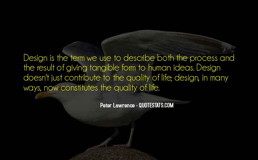 Quotes About The Design Process #1267484