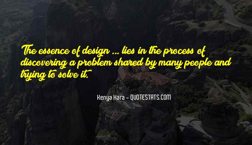 Quotes About The Design Process #1291012