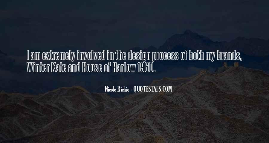 Quotes About The Design Process #1425817
