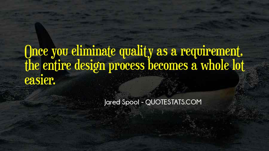 Quotes About The Design Process #1614356