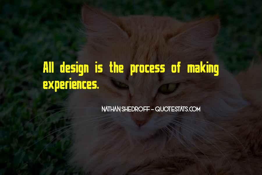 Quotes About The Design Process #556248
