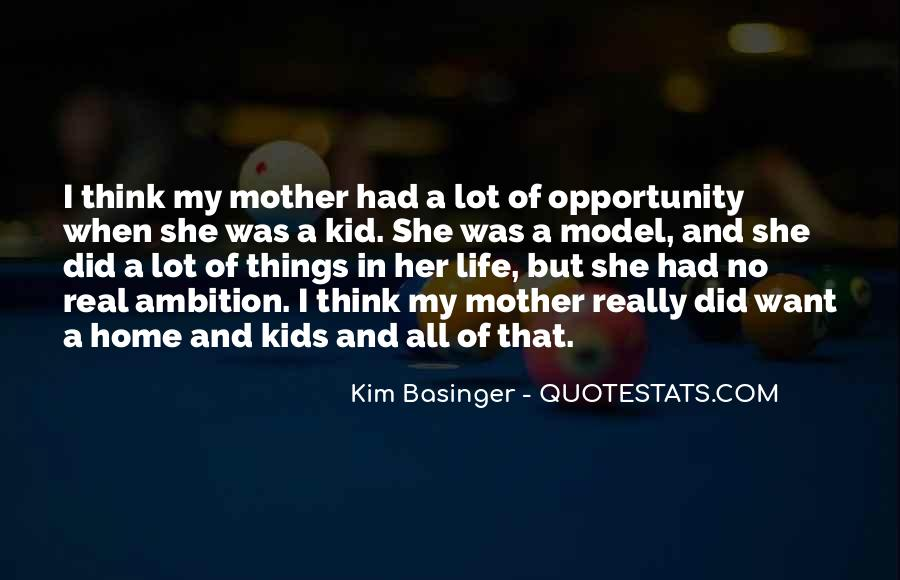 Quotes About Opportunity In Life #104579