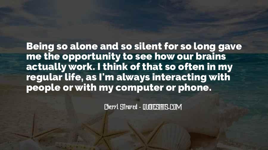Quotes About Opportunity In Life #115849