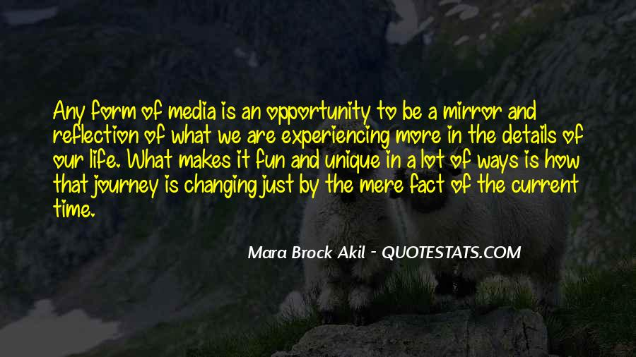 Quotes About Opportunity In Life #132132