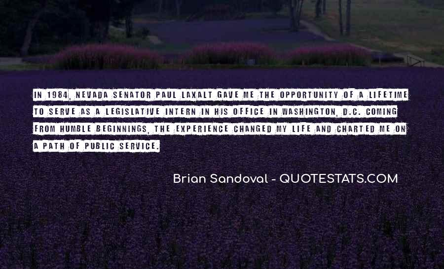 Quotes About Opportunity In Life #190431