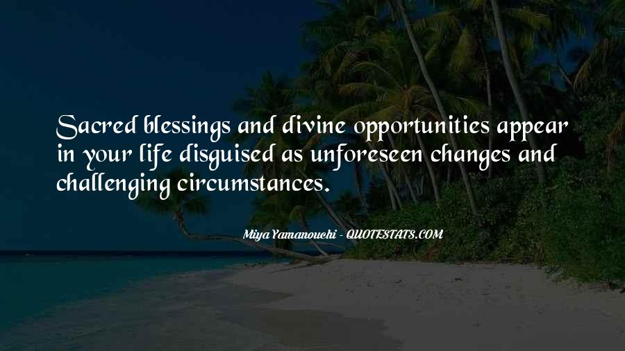Quotes About Opportunity In Life #20089