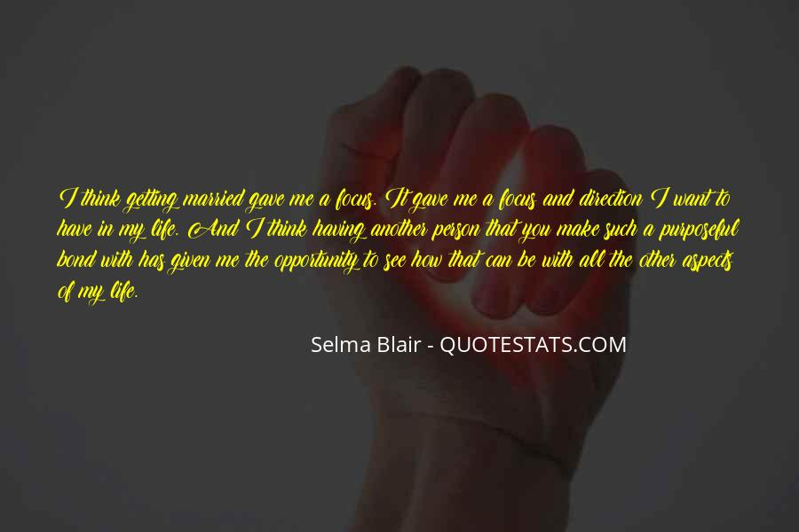 Quotes About Opportunity In Life #210702