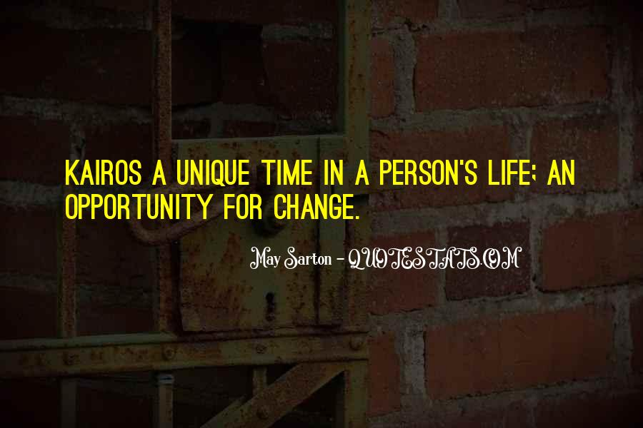 Quotes About Opportunity In Life #245084