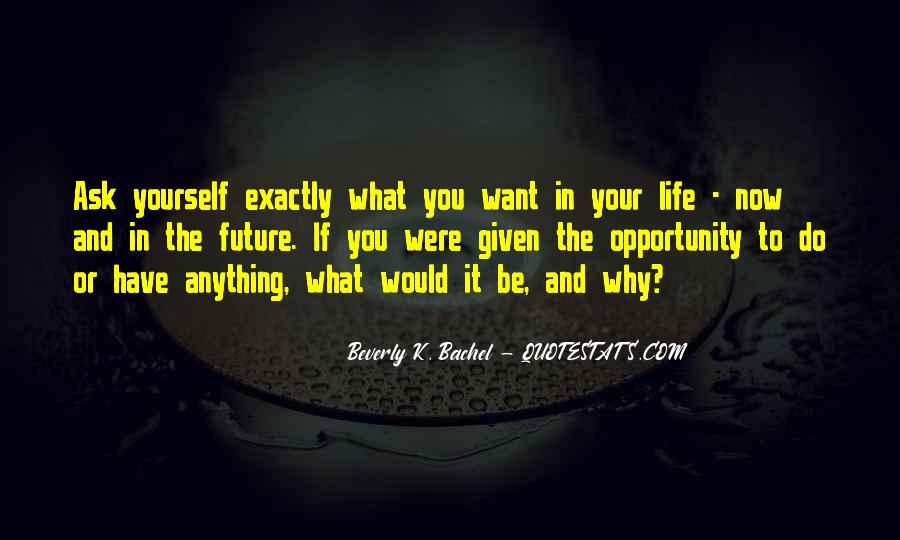Quotes About Opportunity In Life #385438