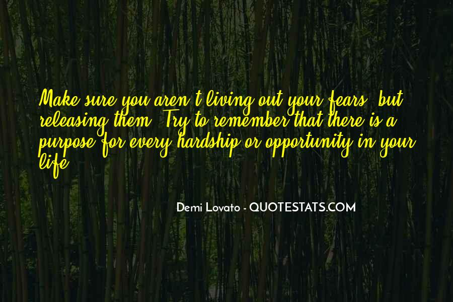 Quotes About Opportunity In Life #45760