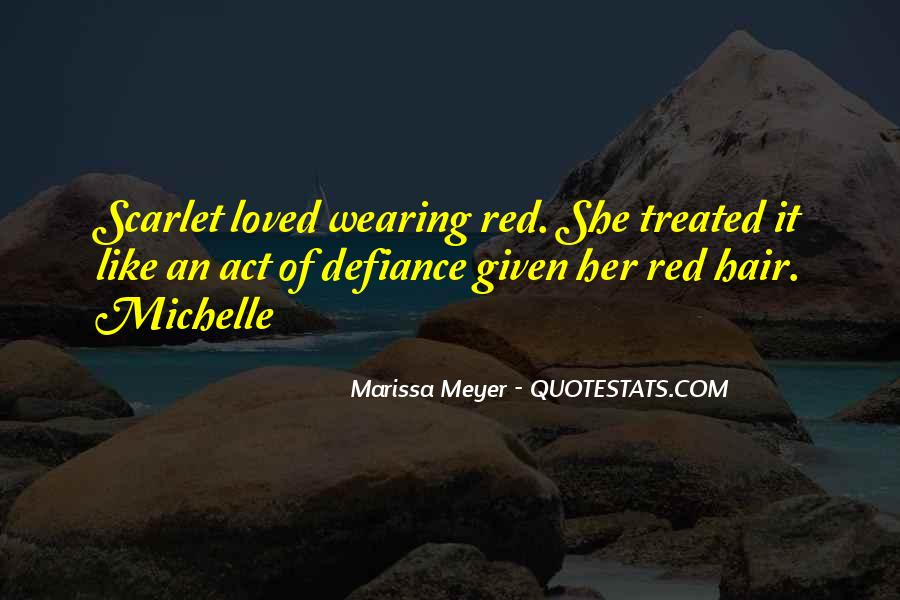 Quotes About Wearing Red #1330937